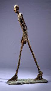 L'Homme qui marche Giacometti -Lousiana Art Museum, Humlebaek, Denmark